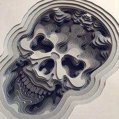 Delicate Papercut Art on Velum Board by Patrick Cabral Paper Cutting, Cut Paper, Art Kawaii, Quilled Roses, Paper Art, Paper Crafts, Paper Box Template, Laser Cutter Ideas, 3d Figures
