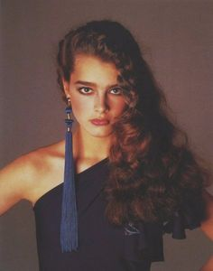 Versace 1980 - Brooke Shields by Richard Avedon