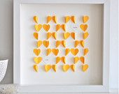 Personalized Little Flower Hearts