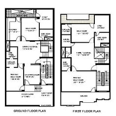 House plan for 27 feet by 50 feet plot plot size 150 for 30x30 house map
