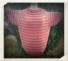 Strikket genser. Mønsteret Shaktoolik fra StellaCharmingDesign