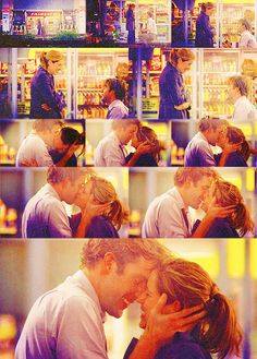 """Pam and Jim from """"The Office"""". Doesn't everyone want what they have? Too cute."""