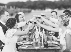 Rustic wedding inspiration ~ Half Orange Photography a must do for a dinner party shoot