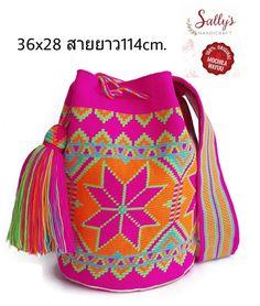 Mochila Crochet, Crochet Tote, Crochet Purses, Tapestry Bag, Tapestry Crochet, Wiggly Crochet, Crotchet Bags, Fendi Bags, Bucket Bag