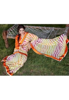 Georgette Lehriya Saree Product Code: FHLASANG1259B Availability:In Stock Price: Rs.1,433