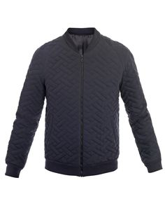 Jonathan Saunders            Mortimer quilted Mayfair bomber jacket
