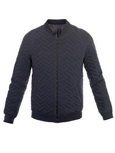 Jonathan Saunders            Mortimer quilted Mayfair bomber jacket