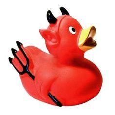 Canard de Bain Petit Diable
