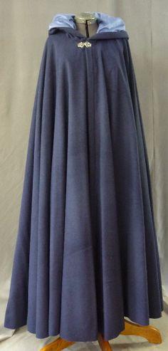 Dark blue wool blend