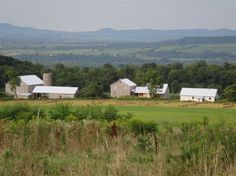 Located in St. Johnsville, NY, Heritage Meadows Farm B & B is on a 60-acre working farm. They grow their own fruit and veggies and raise hens for eggs.