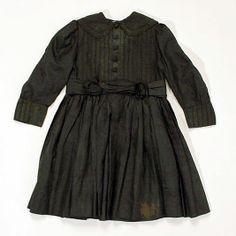 Mourning coat Date: ca. 1896 Culture: American Medium: silk
