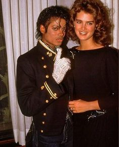 Michael Jackson And Brooke Shields Holding Hands