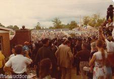 Elvis Presley Funeral Vintage Original Photo 1977 Inside Graceland Gates