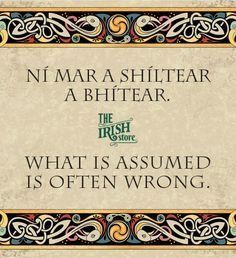 12 Famous Gaelic Irish Phrases & Translations - The Irish Store Gaelic Quotes, Gaelic Words, Irish Quotes, Irish Sayings, Irish Tattoos, Wing Tattoos, Celtic Tattoos, Sleeve Tattoos, Tatoos