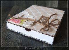 Paper, ART & Co.: Anleitung Schiebeschachtel