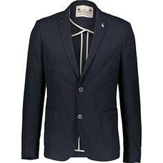 Navy Textured Blazer