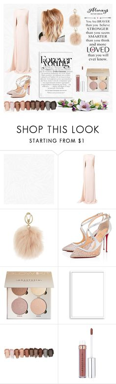 """Perfect date❤️3 [contest]"" by mansiag ❤ liked on Polyvore featuring Graham & Brown, WALL, STELLA McCARTNEY, Furla, Christian Louboutin, Bomedo, DateNight and glam"
