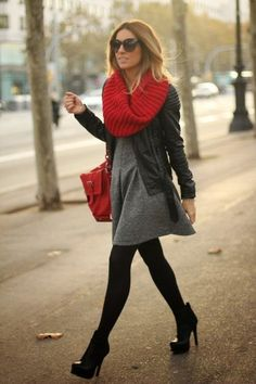 Dress in the cold weather