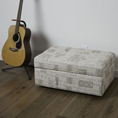 The Veranda Latin Script Fabric Storage Ottoman offers the elegance of fabric with the convenience of storage. Its padded and tufted top even give you additional seating.http://www.overstock.com/Home-Garden/Veranda-Latin-Script-Fabric-Storage-Ottoman/7292578/product.html?CID=214117 $69.99