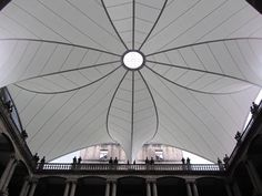 Outstanding Achievement Award for tensile structures 600-2300 sq.m: Tensostructure for Palacio de Minería