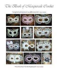 Masquerade Crochet Pattern EBook by 365Crochet on Etsy, $15.95