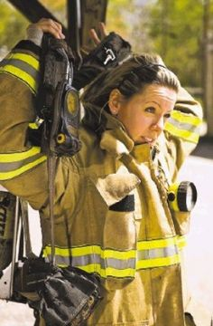 Female minority: Women firefighters pull their share
