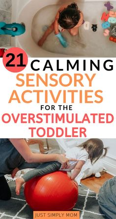 Does your toddler or baby get a little wild at certain times of the day? Try these tips to calm them down using sensory strategies. The relaxation will help them sleep and fall into a better routine. Try different options and see what works best for your child.