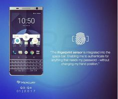 Alleged renders of BlackBerry Mercury show off curved screen and QWERTY keypad