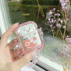 Bluetooth Wireless Earphones, Headset, Aesthetic Themes, Aesthetic Fonts, Kawaii Accessories, Airpods Pro, Airpod Case, Cute Cases, Kawaii Drawings