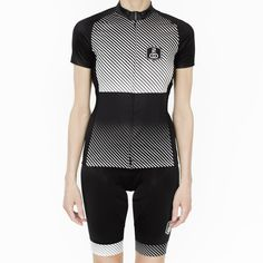 30% OFF! Stripes are right. Made in Italy. Worn anywhere. Light + breathable Italian cycling fabrics. Elasticized grip at hem. Sweat resistant rear pocket with zipper. Full length covered zipper. Whil
