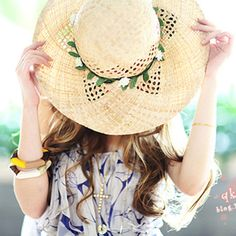 Hollow braided hat beach hat Rafi straw hat sun hat