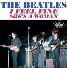 45 Picture Sleeves Value Beatles Album Covers, Beatles Albums, Beatles Band, Cool Album Covers, The Beatles, Beatles Singles, She's A Woman, Number One Hits, Linda Ronstadt