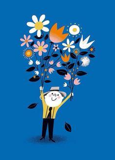 Imagem via We Heart It https://weheartit.com/entry/144469247 #azul #blue #branco #laranja #orange #pink #rosa #white