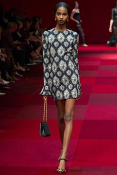 Dolce & Gabbana Spring 2015 Ready-to-Wear - Collection - Gallery - Look 1 - Style.com I want all of it.