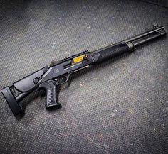 Salient Arms International Benelli Find our speedloader now… Weapons Guns, Airsoft Guns, Guns And Ammo, Bullpup Shotgun, Tactical Shotgun, Benelli M4, Salient Arms, Fire Powers, Home Defense
