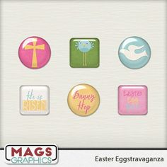 EASTER EGGSTRAVAGANZE  FREEBIE can be found in the MagsGraphics Gallery Showcase Group on Facebook: http://bit.ly/magsFBGroup.  Full collection is sold at Gingerscraps:  http://bit.ly/mags_GS