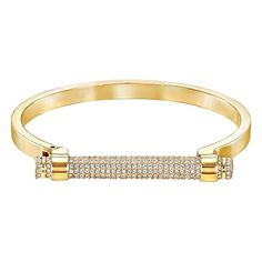 Best Bracelets For Women | Swarovski Friend GoldPlated Bangle ** Visit the image link more details. Note:It is Affiliate Link to Amazon. #s4s