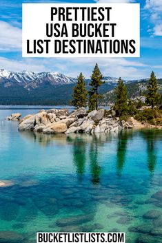 The best and prettiest USA bucket list destinations! These should be at the top of your bucket list! #USA Bucketlist #bucketlist #USA | USA bucket list | bucket list | USA bucket list places to visit | USA bucket list challenge | USA bucket list destinations |