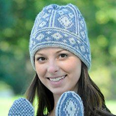 Knitting Patterns Galore - Arctic Hat