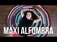 Maxi alfombra de trapillo multicolor - MissDIY