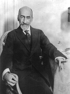 """Jacinto Benavente (1866-1954), Spanish dramatist. """"for the happy manner in which he has continued the illustrious traditions of the Spanish drama"""""""