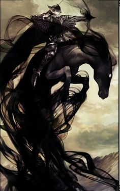 Kimaris- Christian myth: a marquis of hell that is described as a goodly warrior riding a black horse, and possesses the abilities of locating lost or hidden treasures, teaching trivium (grammar, logic and rhetoric) and making a man into a warrior of his own likeness. He also rules over all the spirits of Africa.
