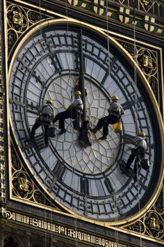 Cleaning Big Ben