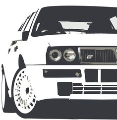 Lancia Delta Car art