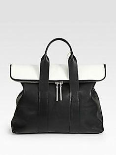 3.1 Phillip Lim - 31 Hour Colorblock Bag