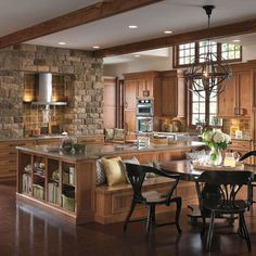 Kitchen Island With Attached Banquette Design, Pictures, Remodel, Decor and Ideas - page 3