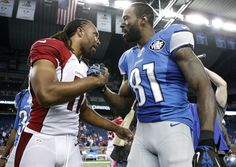 Amid the conversation of Calvin Johnson retiring at the ripe age of 30 it begs the question, was he better than Larry Fitzgerald?