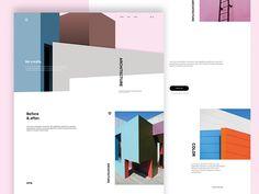 Architectural studio website by Paweł Pniewski