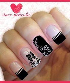 100 nail designs that you will love page 27 Fabulous Nails, Perfect Nails, Gorgeous Nails, Love Nails, Nagellack Design, Beautiful Nail Art, Creative Nails, Simple Nails, Nail Arts