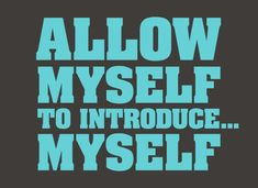"""""""Allow myself to introduce."""" Classic shirt for fans of Austin Powers. Comfortable tees from SnorgTees. Funny Tees, Funny Tshirts, Austin Powers, My T Shirt, Working On Myself, Get Over It, True Quotes, I Movie, Cool Shirts"""